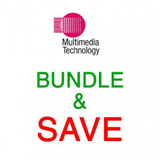 Bundle - Microsoft Wired Desktop 600 Keyboard & Mouse Combo, USB, Black, Retail  x 5
