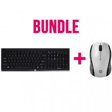 Bundle HP Wireless Keyboard and Mouse ( 2 boxes) 3DH83AA + E5E77AA