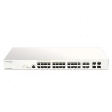 D-Link 28-Port Nuclias Cloud-Managed PoE Switch