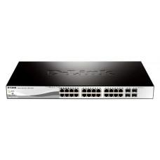 Buy D-LINK DGS-1210-28P, Get 8 Shintaro Cat5e Cables for FREE!! 2x 0.5m + 2x1m + 2x 2m + 2x 3m