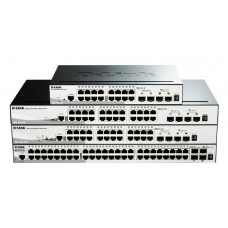 D-LINK DGS-1510-28P 28-Port Gigabit SmartPro PoE Switch with 24 UTP, 2 SFP and 2 SFP+ 10G Ports