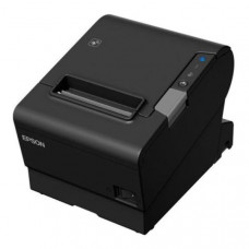 Epson TM-T88VI-241 Thermal Receipt Printer Built-in Ethernet, USB, Serial, With PSU, no data or power cables, Black colour