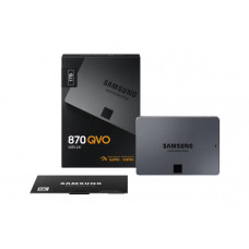 Samsung SSD 870 QVO 1TB, MZ-77Q1T0BW, 2.5 inch 7mm SATA (560MB/s Read, 530MB/s Write), 3 Year Warranty