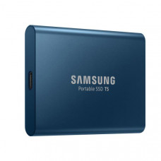 Samsung T5 Portable SSD 500GB/Up to 540MB/Sec Transfer speed/Alluring Blue/51g